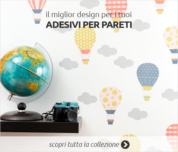 Adesivi murali acquista online i tuoi stickers murali su for Adesivi per pareti cucina