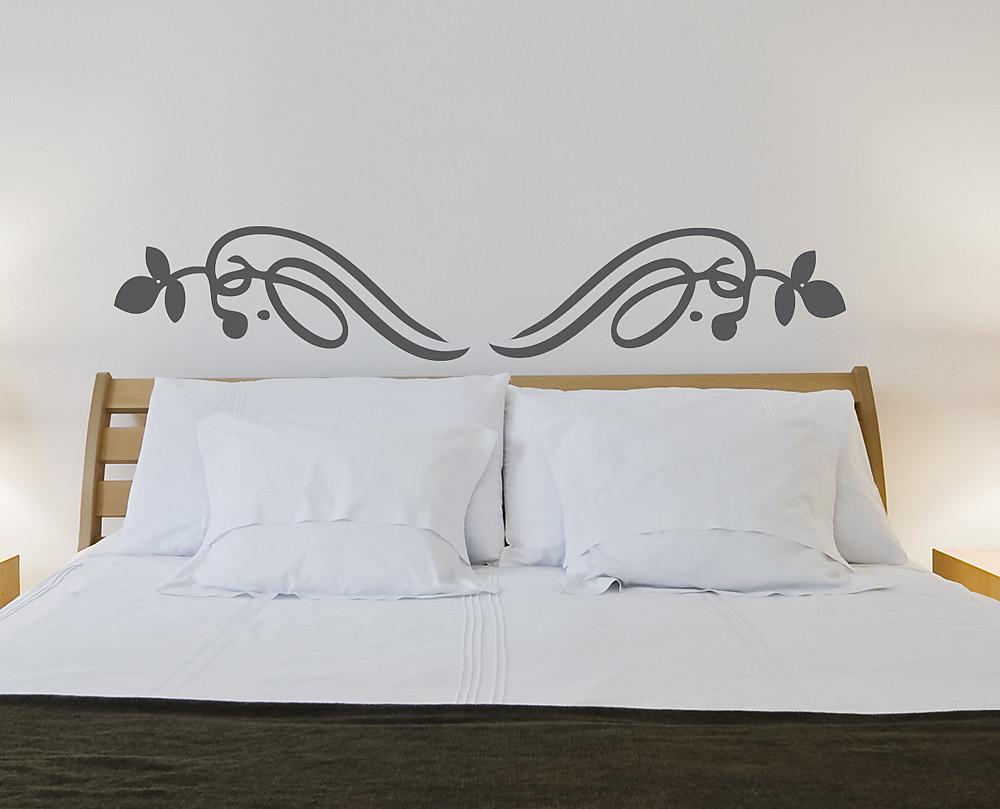 Sticker forme liberty decorazione adesiva murale - Stencil parete camera da letto ...