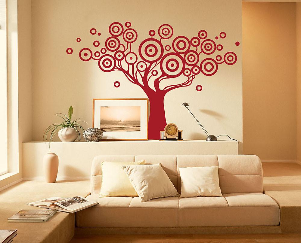 Stickers murali albero for Decorazioni da parete adesive