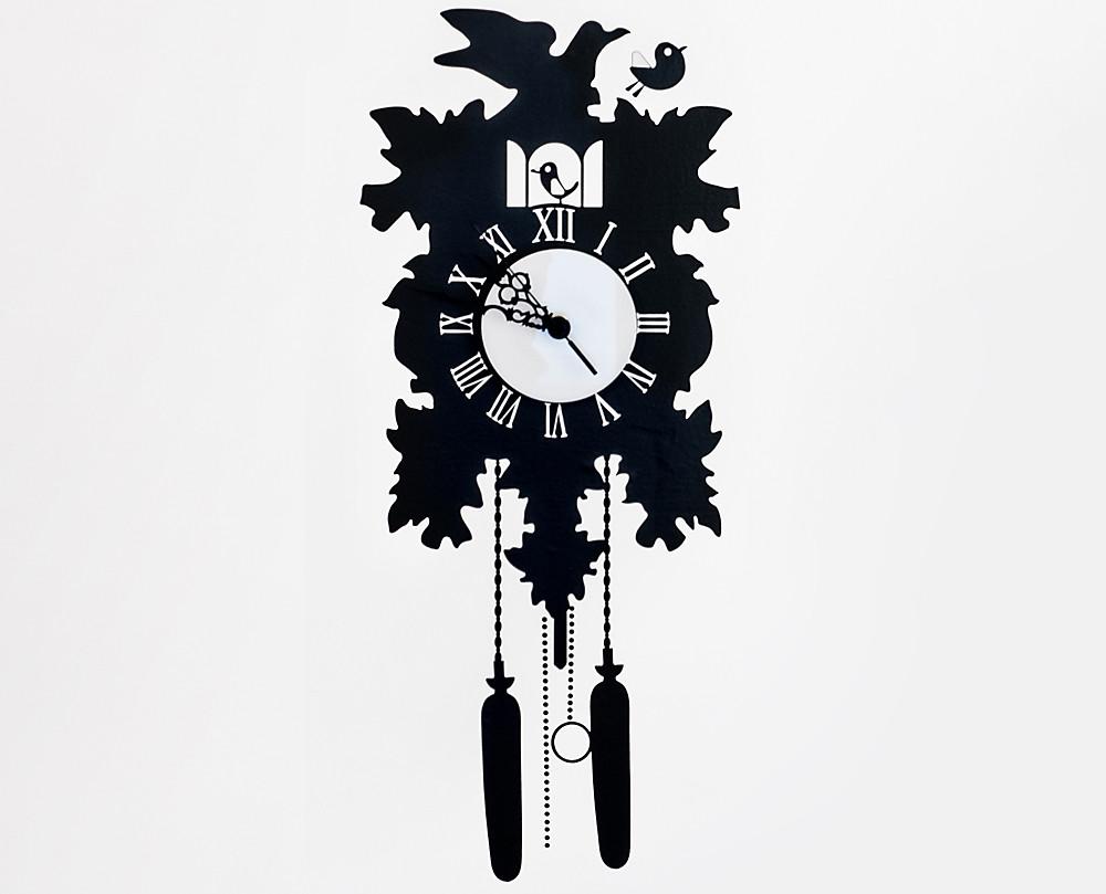Cucu 39 orologio a parete con sticker murale for Orologio stickers