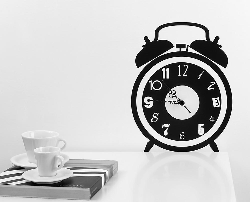 Sveglia orologio da parete for Orologio stickers
