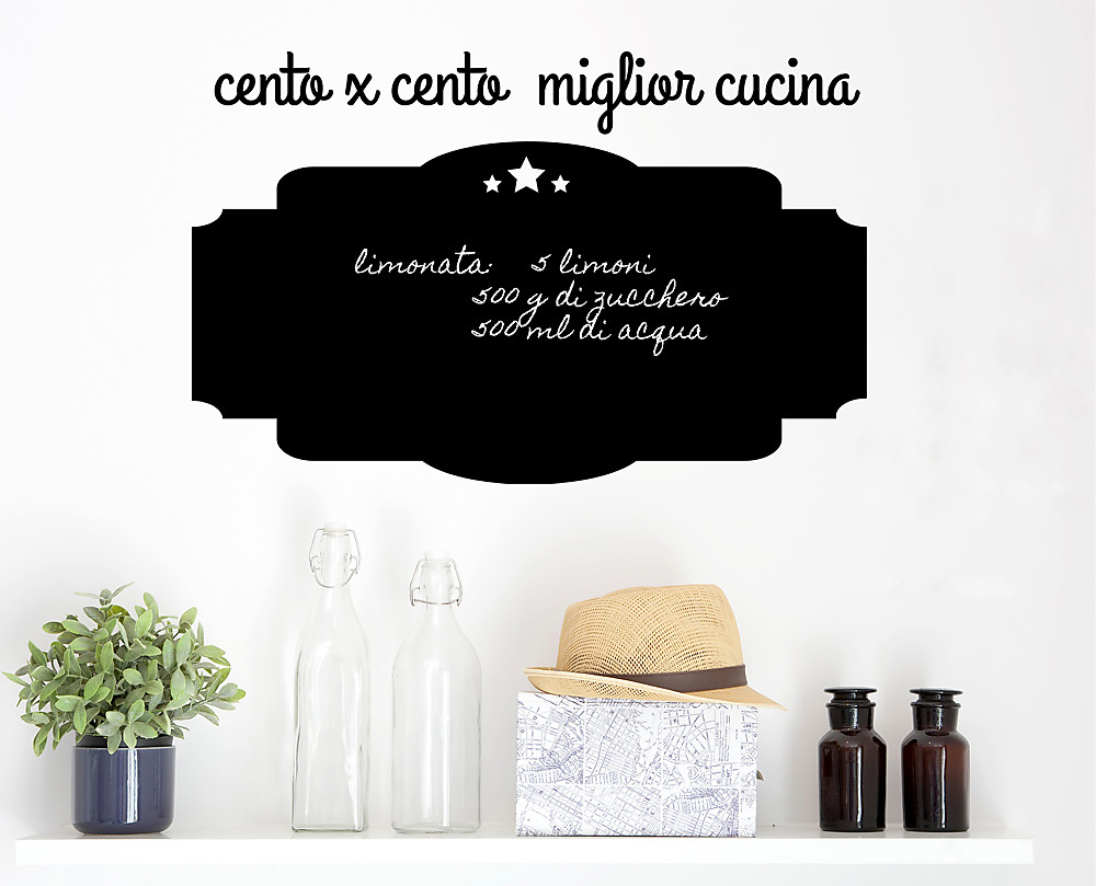 Lavagna Cucina. Excellent Archivio Fotografico Vista Frontale Del ...