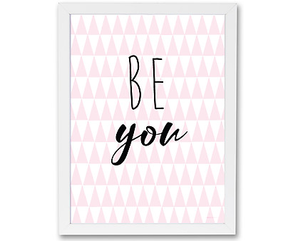 be you - stampa con cornice