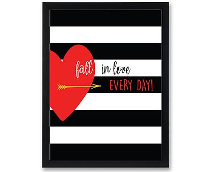 fall in love - stampa in cornice