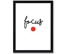 focus - stampa in cornice