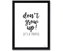 grow up - stampa in cornice