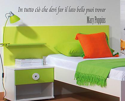Mary poppins decorazione adesiva murale - Decorazione parete cameretta ...