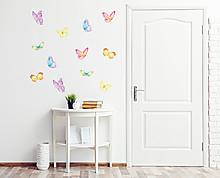 farfalle acquerellate