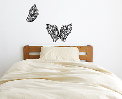 farfalla decorata