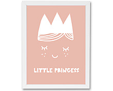 little princess - stampa in cornice