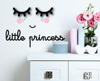 little princess - decorazione da parete