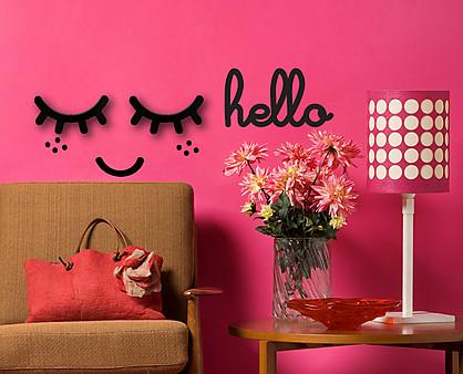 hello - decorazione da parete