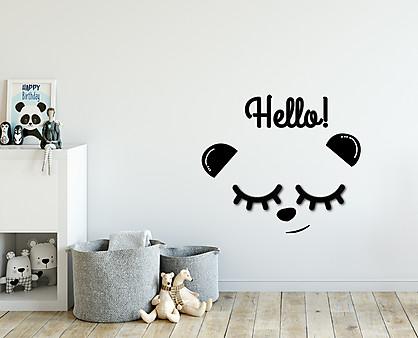 panda - decorazione da parete