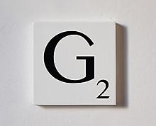 g - tessera decorativa in legno