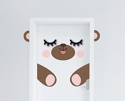 orsetto - decorazione per porta