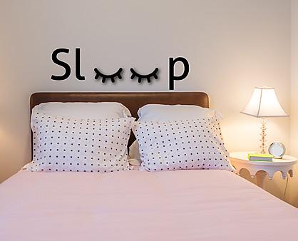sleep - decorazione da parete