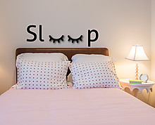 sleep - wall decor