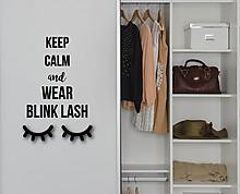 blink lash - decorazione da parete