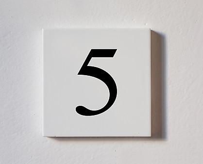 5 - tessera decorativa in legno