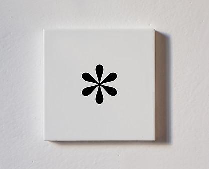 asterisco - tessera componibile in legno