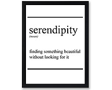serendipity - stampa in cornice