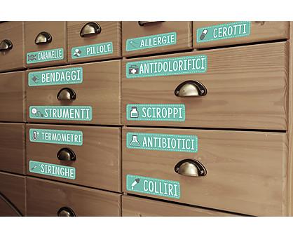 etichette medicinali