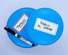 etichette freezer chic - scrivibili