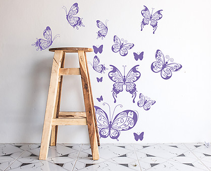 farfalle decò