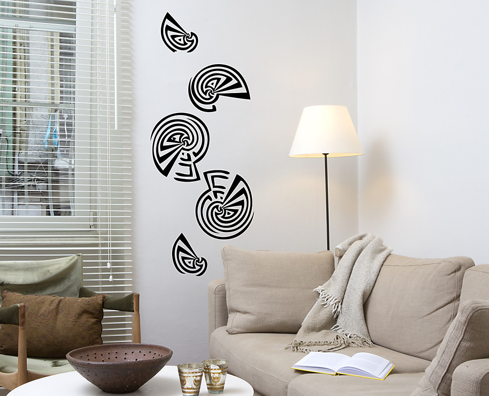 Sticker conchiglie decorazione adesiva murale for Decorazioni adesive per pareti