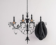 chandelier clothes hanger