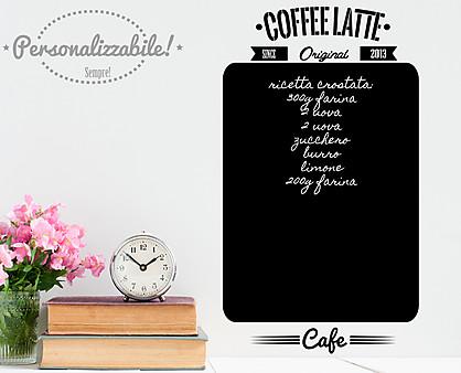 lavagna coffeelatte