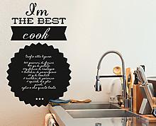the best cook blackboard