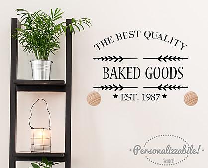 Portasalviette baked goods