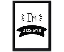 dreamer - stampa in cornice