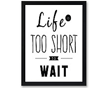 too short - print with frame