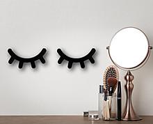 Ciglia decorative in legno