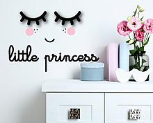 little princess - decorazione da parete