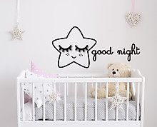 good night - decorazione da parete