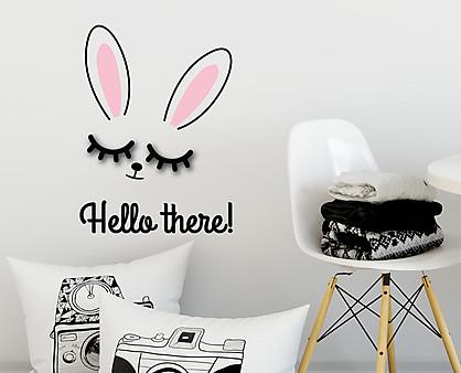 Coniglio - decorazione da parete