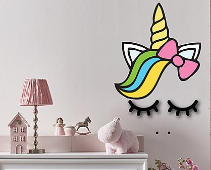 unicorno - decorazione da parete
