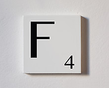 f - tessera decorativa in legno