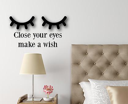 Make a wish - decorazione da parete