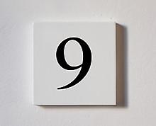 9  - tessera decorativa in legno