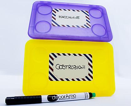 etichette scrivibili bambino