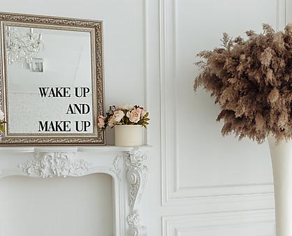 wake up & make up