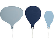 Blue air-balloon hook