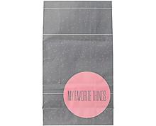 grey paperbag