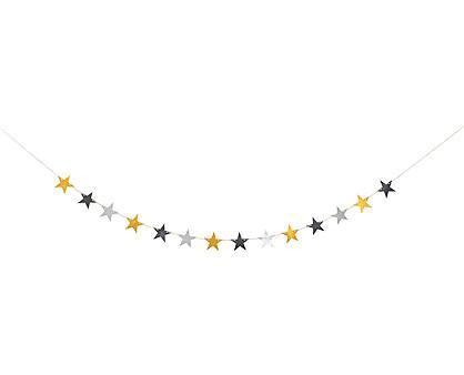 catena di stelle glitter