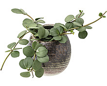 Wall Flowerpot, White, Stoneware