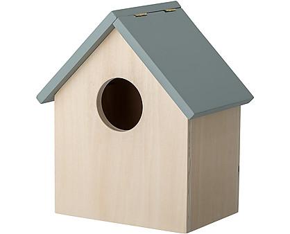 Storagebox w/Lid, Grey, Plywood